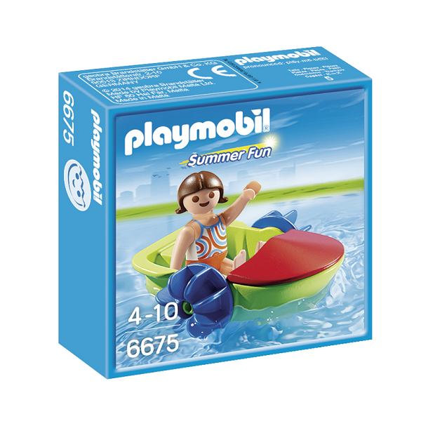 Image of Vandcykel - PL6675 - PLAYMOBIL Summer Fun (PL6675)