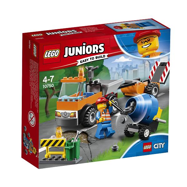 Image of Vejarbejdsvogn - 10750 - LEGO Juniors (10750)