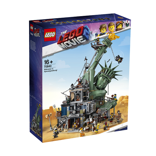 Image of Velkommen til Apokalypseby! - 70840 - LEGO Movie 2 (70840)