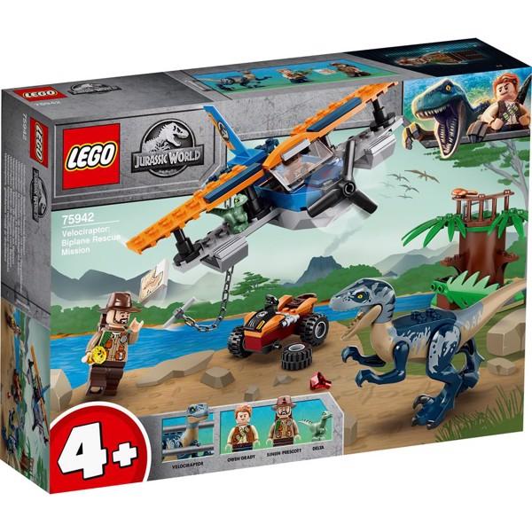Image of Velociraptor: Flyredningsmission? - 75942 - LEGO Jurassic World (75942)