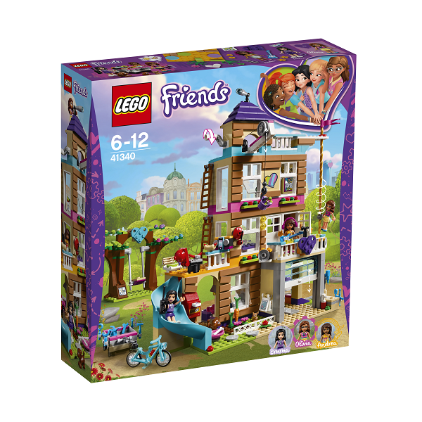Image of Venskabshus - 41340 - LEGO Friends (41340)