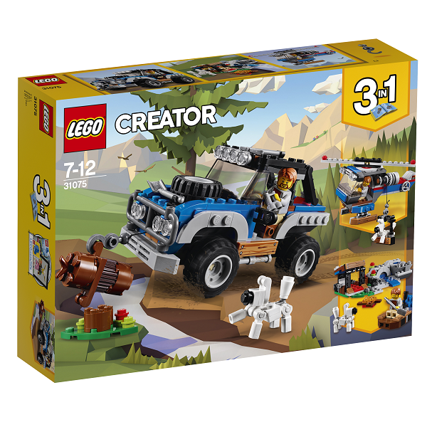 Image of Vildmarkseventyr - 31075 - LEGO Creator (31075)