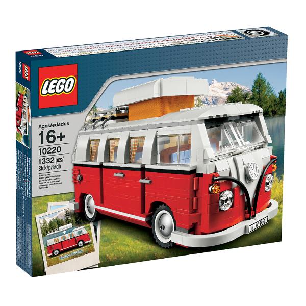Image of Volkswagen T1 Camper Van - 10220 - LEGO Creator Expert (10220)