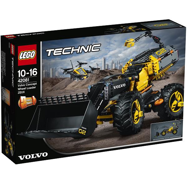 Volvo konceptkøretøj # Gummiged ZEUX - 42081 - LEGO Technic