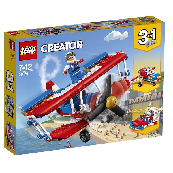 Image of Vovehalsens stuntfly - 31076 - LEGO Creator (31076)