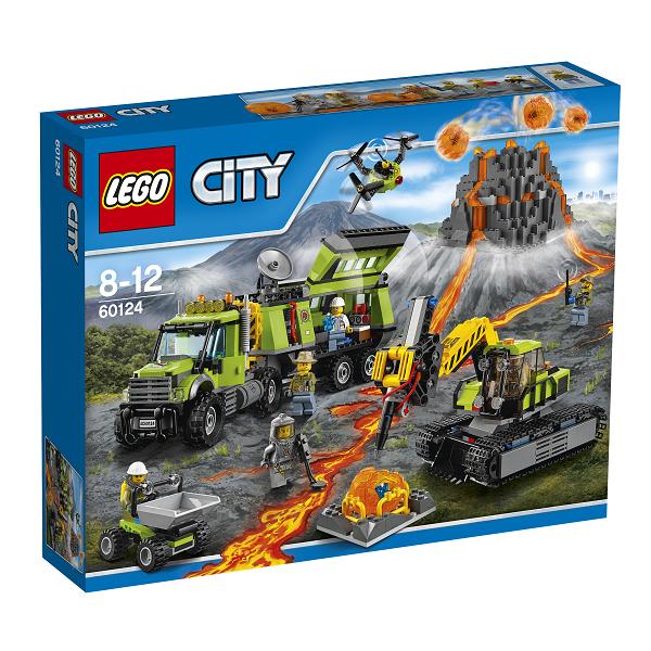 Vulkan-ekspeditionsbase - 60124 - LEGO City