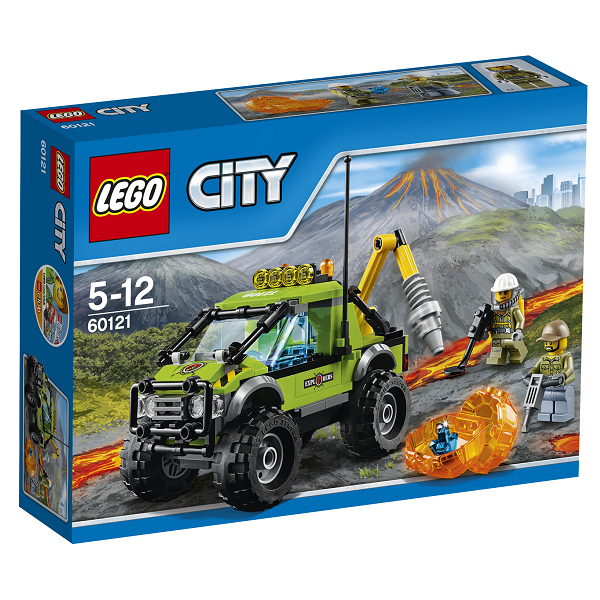 Image of Vulkan-ekspeditionslastbil - 60121 - LEGO City (60121)