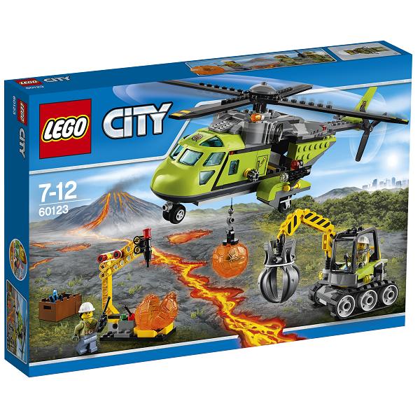 Image of Vulkan - forsyningshelikopter - 60123 - LEGO City (60123)