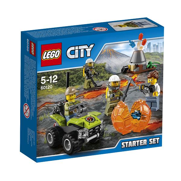 Image of Vulkan - Startsæt - 60120 - LEGO City (60120)
