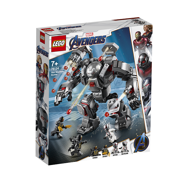 Image of War Machine-kamprobot - 76124 - LEGO Super Heroes (76124)