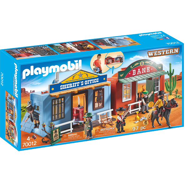 Image of Westerncity at tage med - PL70012 - PLAYMOBIL Western (PL70012)