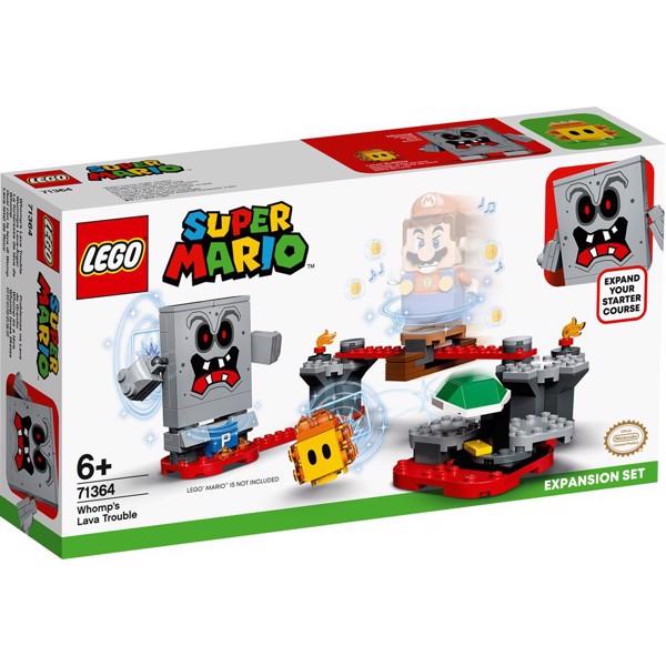 Image of Whomps lavaballade - udvidelsessæt - 71364 - LEGO Super Mario (71364)