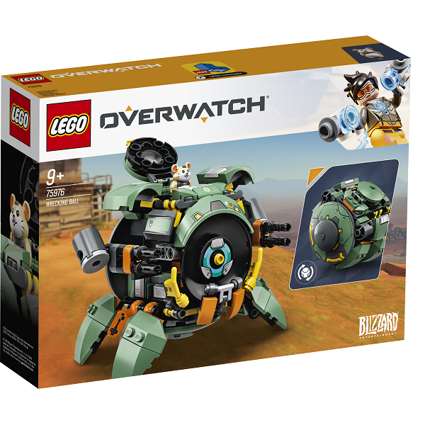 Image of Wrecking Ball - 75976 - LEGO Overwatch (75976)