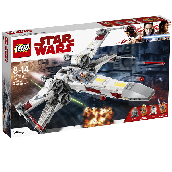 Image of X-wing-stjernejager - 75218 - LEGO Star Wars (75218)