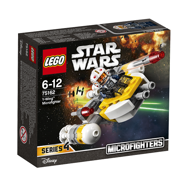 Image of Y-wing microfighter - 75162 - LEGO Star Wars (75162)