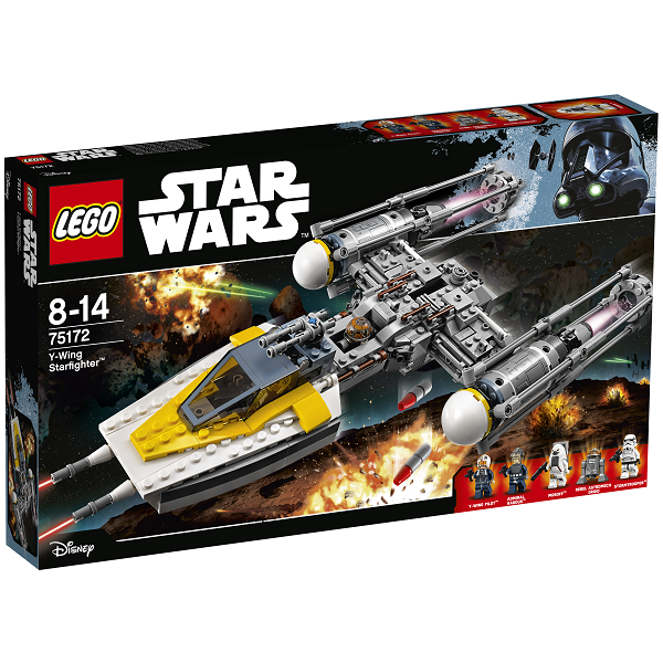 Image of Y-wing Starfighter - 75172 - LEGO Star Wars (75172)