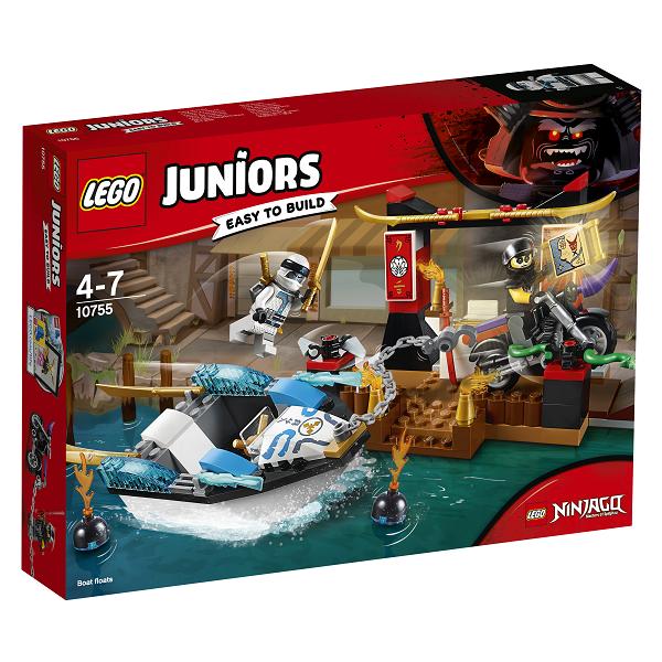 Image of Zanes ninjabådjagt - 10755 - LEGO Juniors (10755)