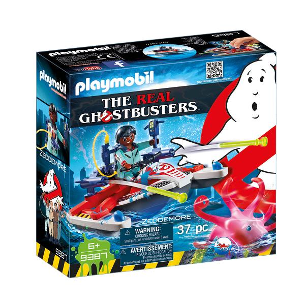 Image of   Zeddemore med vandscooter - 9387 - PLAYMOBIL Ghostbusters