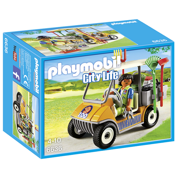 Image of   Zoolastbil - PL6636 - PLAYMOBIL City Life